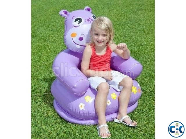 Catoon air Chair with pumper Kids chair | ClickBD large image 0