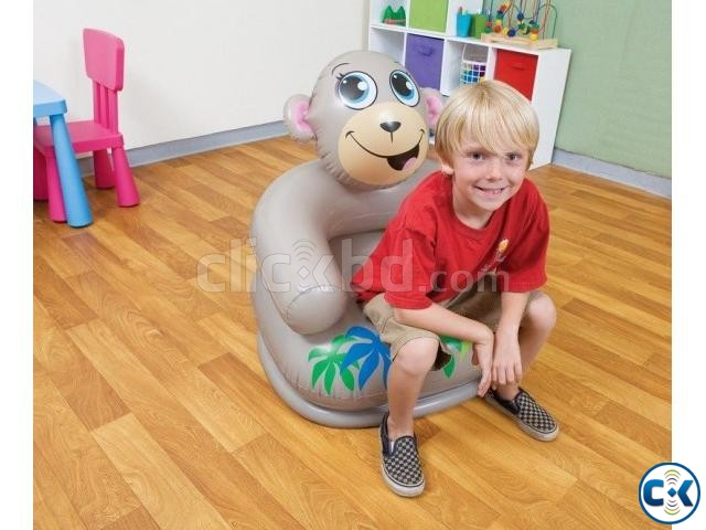 Catoon air Chair with pumper Kids chair | ClickBD large image 1