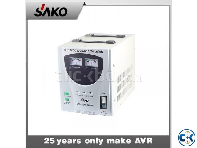 SAKO 2000VA AVR VOLTEAGE REGULATOR | ClickBD large image 0
