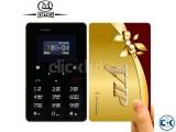 AIEK M5 Mini credit card Size Mobile Phone intact Box