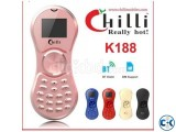 Chilli K188 Spinner Mobile With Bluetooth Dialer intact Box
