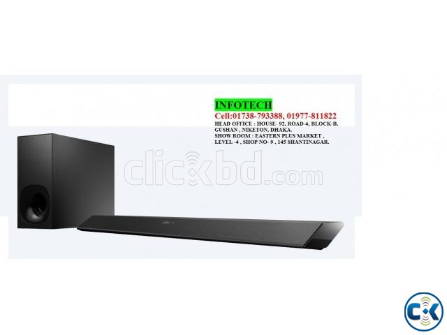 Sony HT-CT380 300W Sound-bar with Wireless Subwoofer . Lowes | ClickBD large image 1