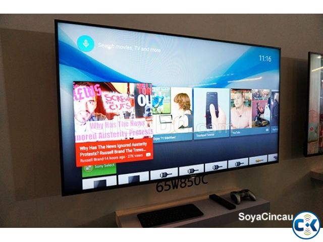 SONY BRAVIA W850C 65INCH 3D SMART LED TV | ClickBD large image 1