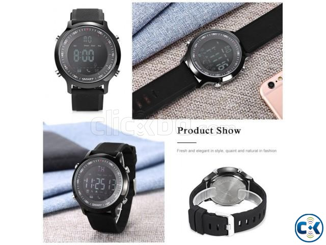EX18 Smart Bluetooth Gear Watch water-proof intact Box | ClickBD large image 2