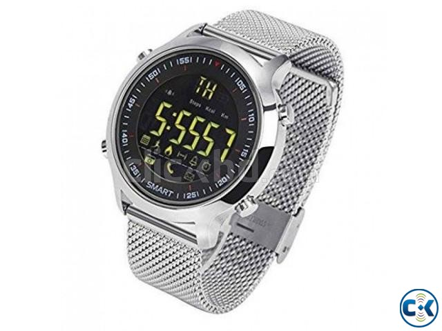 EX18 Smart Bluetooth Gear Watch water-proof intact Box | ClickBD large image 0