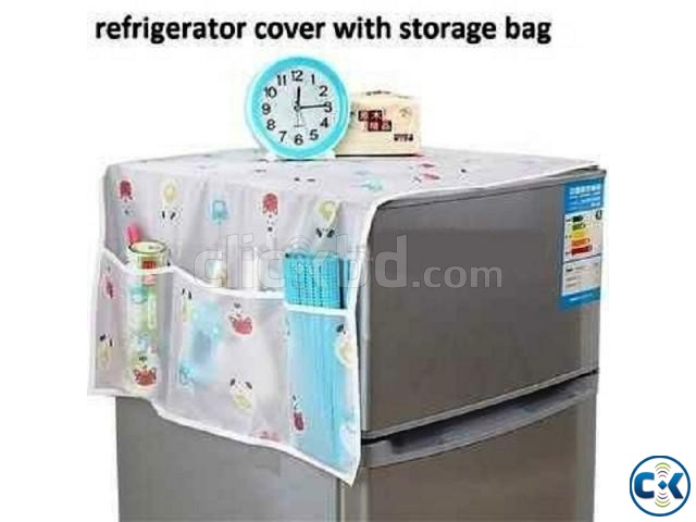 Fridge Top Cover For dust scratches Room Decore | ClickBD large image 0