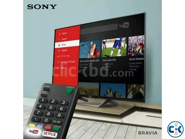 55 Sony Bravia Inch X8000E 4k UHD Android HDR TV | ClickBD large image 0