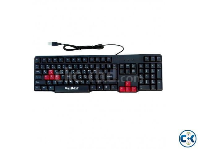 BlackCat E-KB8158 Gaming Keyboard | ClickBD large image 0