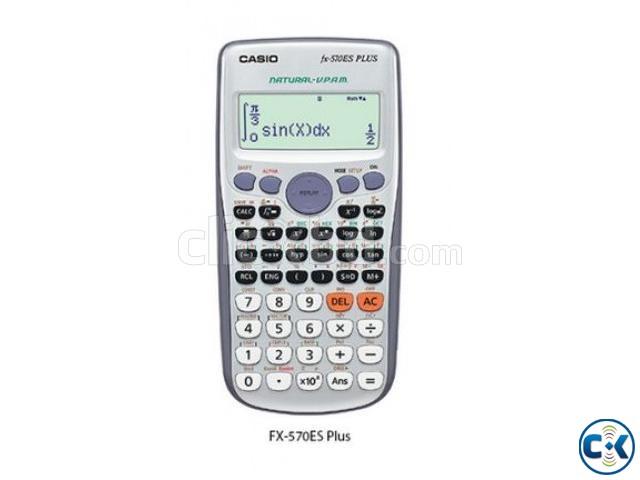 Casio Scientific Calculator FX-570ES PLUS | ClickBD large image 0