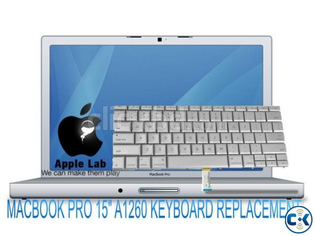 MACBOOK PRO 15 A1260 KEYBOARD REPLACEMENT | ClickBD large image 0