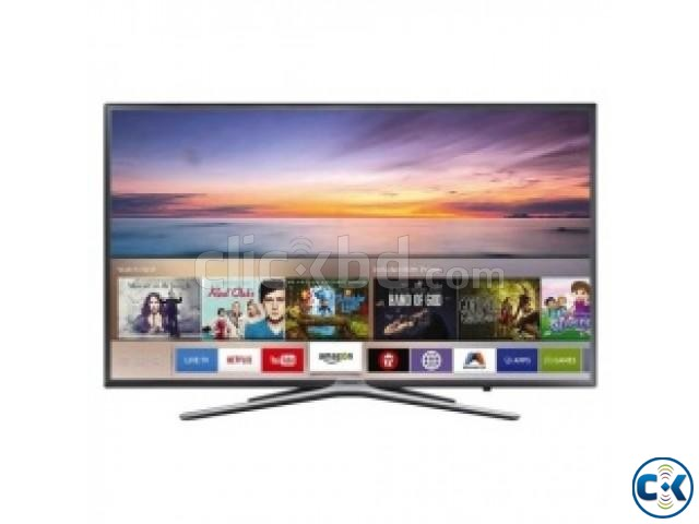 Samsung M5500 43 Inch Flat High Dynamic Wi-Fi Smart LED TV | ClickBD large image 1