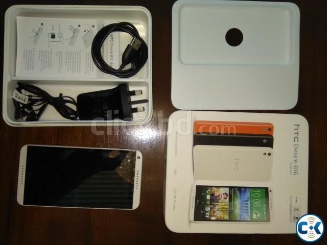 HTC DESIRE 816 DUAL SIM WHITE  | ClickBD large image 0
