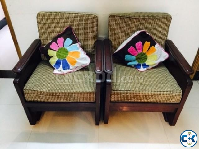 sofa set with center table | ClickBD