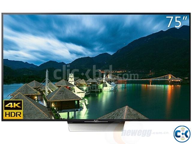 SONY BRAVIA ANDROID 4K 75X8500D LED HDR TV | ClickBD large image 1