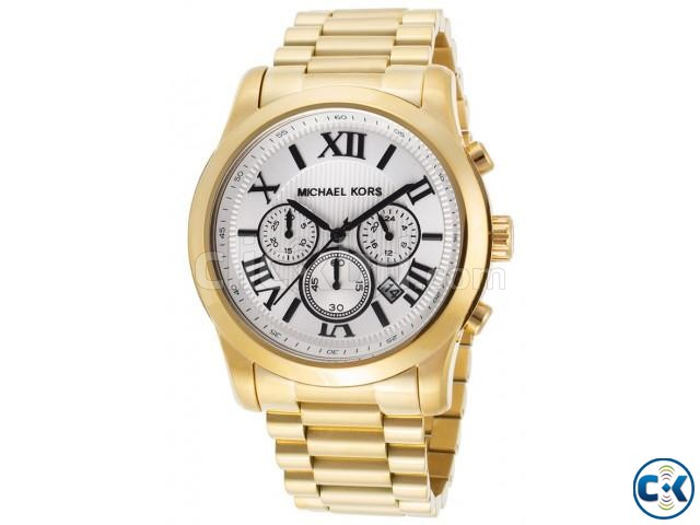 Michael Kors Golden Chronograph Watch MK8345 | ClickBD large image 0