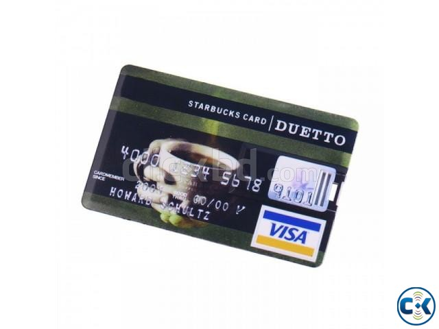 Credit Card Shape Pendrive | ClickBD large image 0