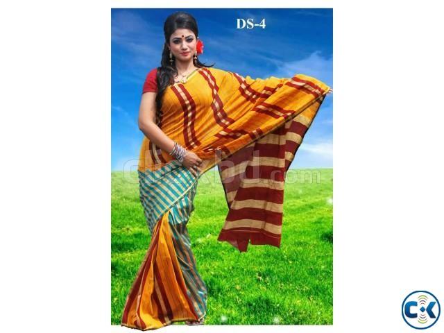 Silk saree ds-04 | ClickBD large image 0