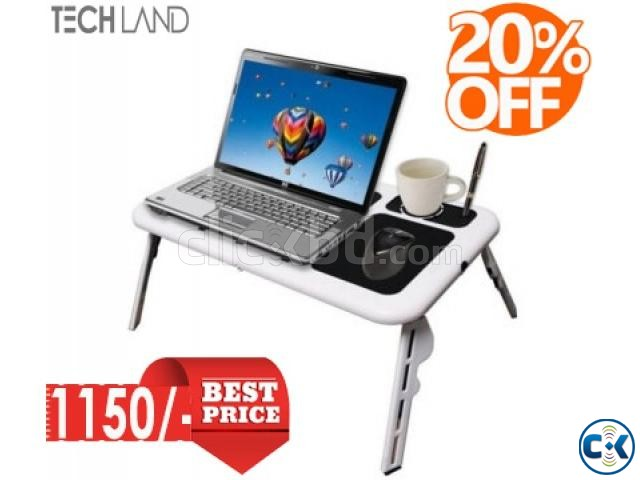 ETable Foldable Laptop Cooling Table 20  | ClickBD large image 0