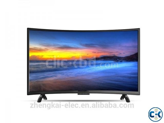 32 CURVED BASIC HD LED TV | ClickBD large image 1