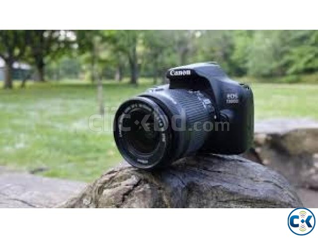 Canon EOS 1300D 18MP DIGIC 4 Budget DSLR Camera | ClickBD large image 1