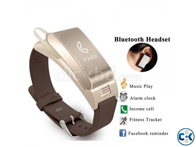 A9 Smart Bracelet Bluetooth Headset bracelet intact Box   ClickBD large image 4