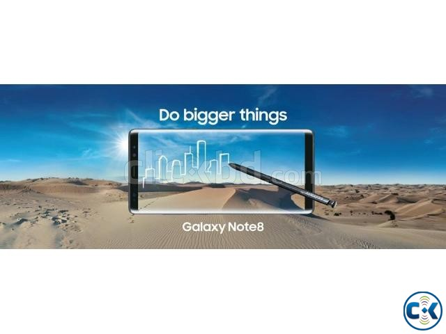 Brand New Samsung Galaxy Note 8 256GB Sealed Pack 3yr Wrnty | ClickBD large image 0
