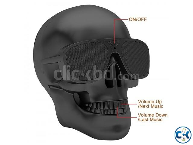 Skull Bluetooth Speaker | ClickBD large image 0