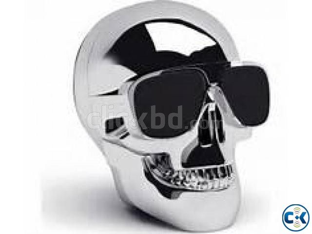 Skull Bluetooth Speaker | ClickBD large image 1