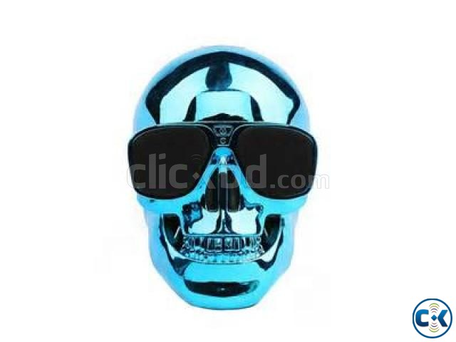 Skull Bluetooth Speaker | ClickBD large image 2
