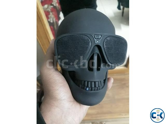 Skull Bluetooth Speaker | ClickBD large image 4