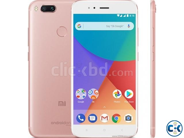 Brand New Xiaomi Mi A1 64GB Sealed Pack With 3 Yr Warrnty | ClickBD large image 1