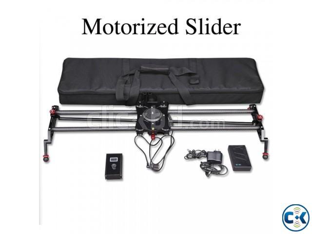 Cisdo 100cm Motorized Video Slider with Time-Lapse Photograp | ClickBD large image 0