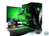 GAMING DESKTOP i3 1000GB 4GB 17 LED