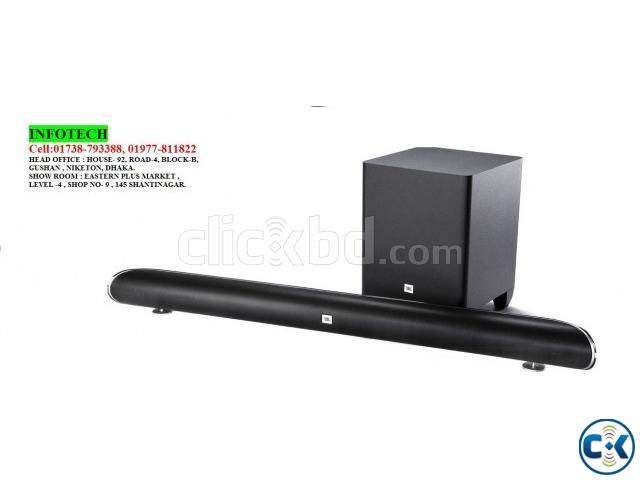 JBL Cinema SB350 Home cinema soundbar with wireless subwoofe | ClickBD large image 0