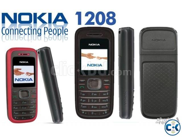 Nokia 1208 Original | ClickBD large image 0