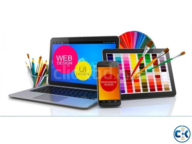 Web Design For Your Business | ClickBD large image 0
