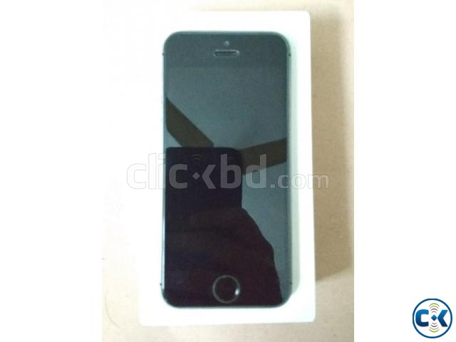 iPhone 5S 32GB Gray Color Factory Unlock | ClickBD large image 0