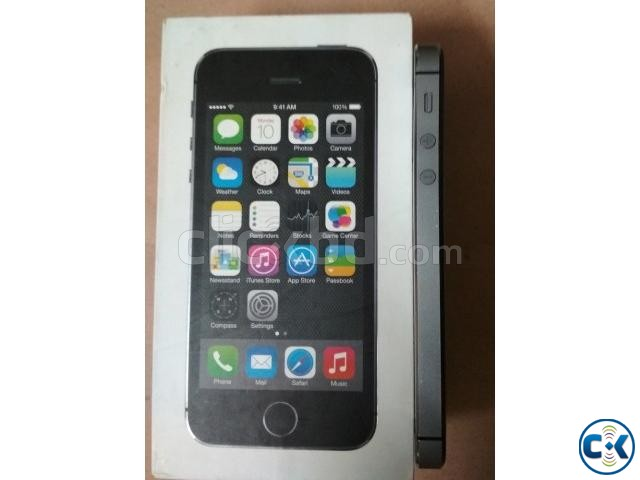 iPhone 5S 32GB Gray Color Factory Unlock | ClickBD large image 3