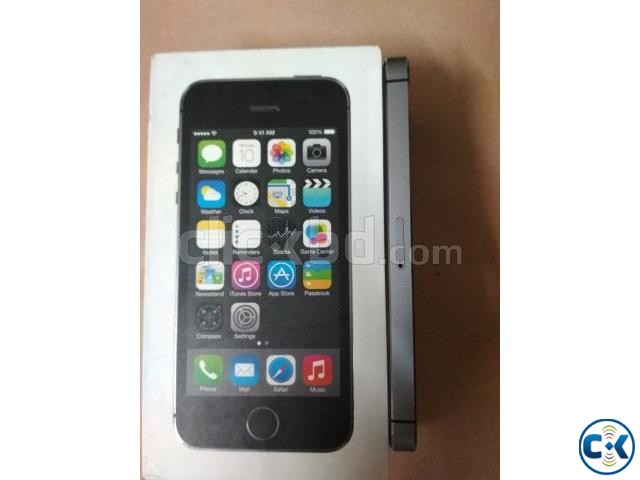 iPhone 5S 32GB Gray Color Factory Unlock | ClickBD large image 4