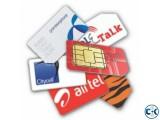Banglalink 019111 sim card