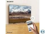 X7000D 55 Sony Bravia Flat 4K Wi-Fi Smart Android TV