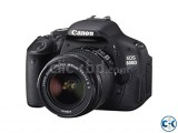 Canon EOS 600D Digital SLR Camera 18MP with 18-55mm Lens