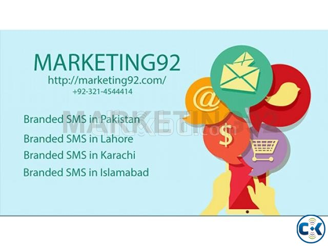 Branded SMS in Pakistan Bulk SMS in Pakistan | ClickBD large image 0