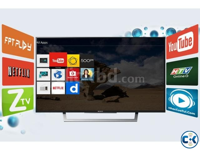 Sony Bravia 40 W652D WiFi Smart Slim FHD LED TV Free Gift | ClickBD large image 0