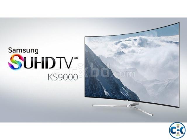 Samsung KS9000 55 4K SUHD Smart Curved Ultra Slim LED TV | ClickBD large image 1