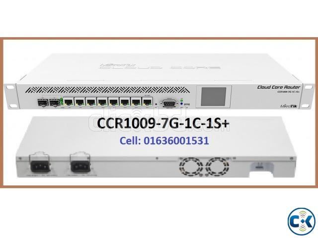 Mikrotik CCR1009-7G-1C-1S  | ClickBD large image 0