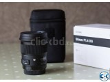 Sigma 50mm F 1.4 Art Lens for Canon