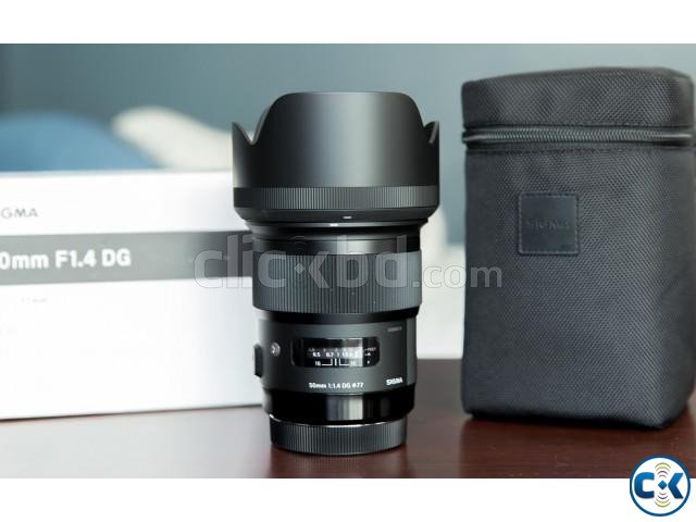 Sigma 50mm F 1.4 Art Lens for Canon | ClickBD large image 1
