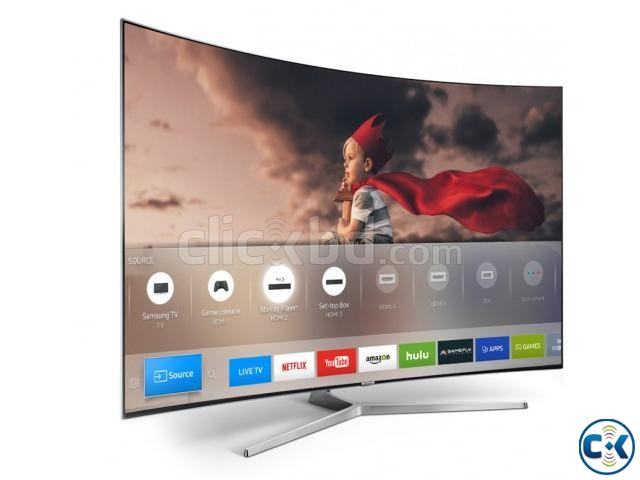 Samsung KS9000 55 4K SUHD Smart Curved Ultra Slim LED TV | ClickBD large image 1