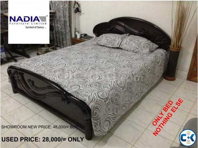 Nadia Double Bed Used Clickbd